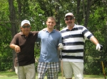 Golf - Joe Gomez, Chase Colwell (Michelle Weedon Colwell's son), Jay George