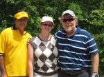 Golf - Vince Slominski, Alice Patke Brothers, Barry Brothers