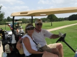 Golf - Susan Hodge Taylor and Ben Taylor
