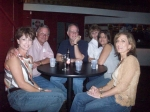 Friday - Trish and Bob Eller, Steve Banister (Debbie Ames's hubby), Marilyn Collins, Debbie Ames Banister, Toni Wasson