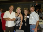 Larry Smith (Jeanene Robinson Smith's husband), Susan Hodge Taylor, Diane Herring Welch and Scott Welch